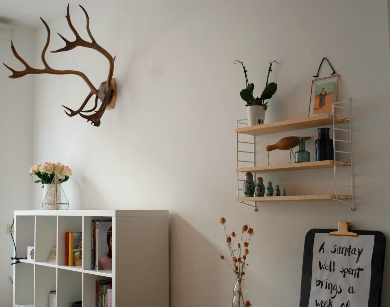 Foto Decoratie Muur.Rustgevend Interieur De Muur Aankleden Mysig