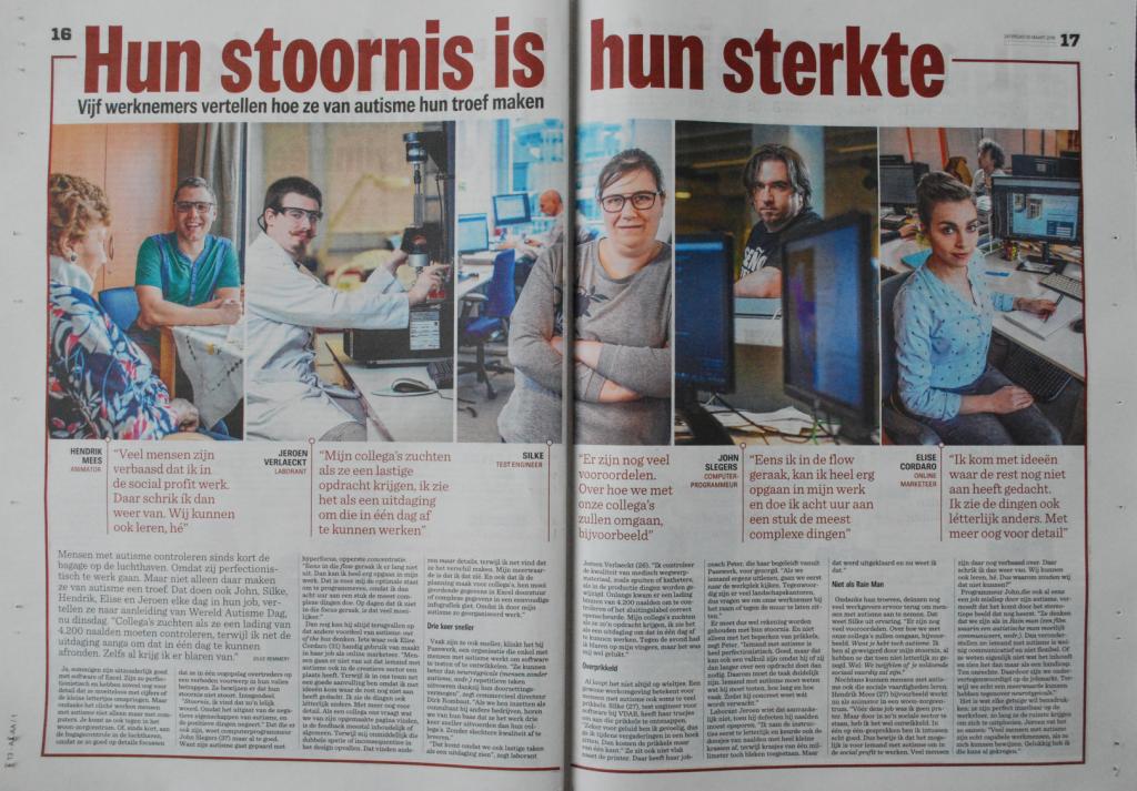 Autisme op het werk - Nieuwsblad