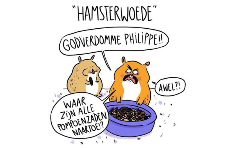 Hamsterwoede - Niet nu Laura
